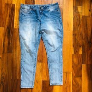 Maurice's Plus Size Skinny Jeans XL R / 16 18